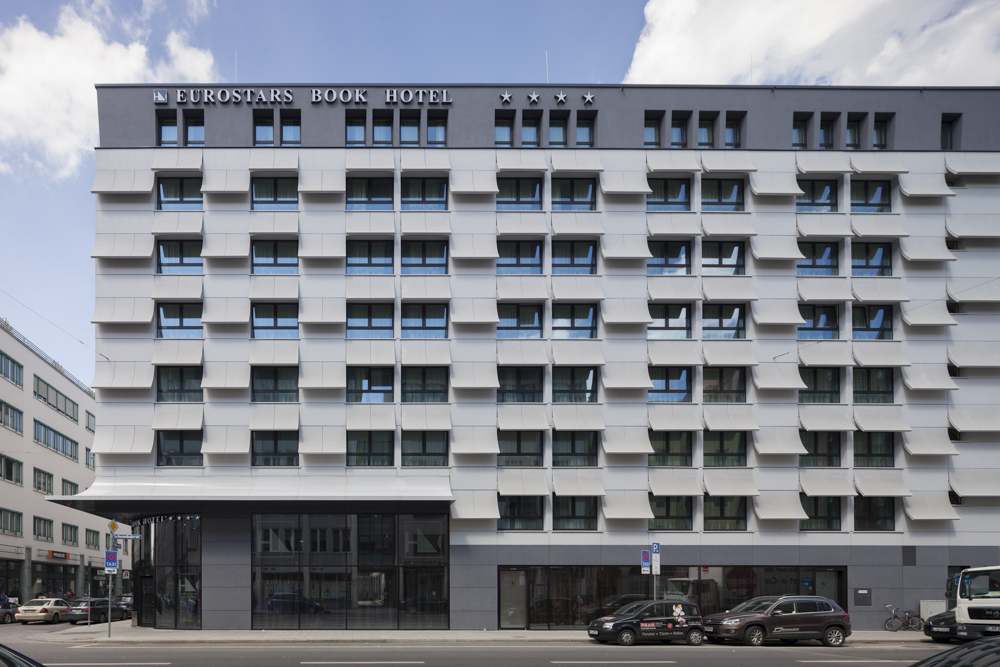 Eurostars Book Hotel Muenchenarchitektur