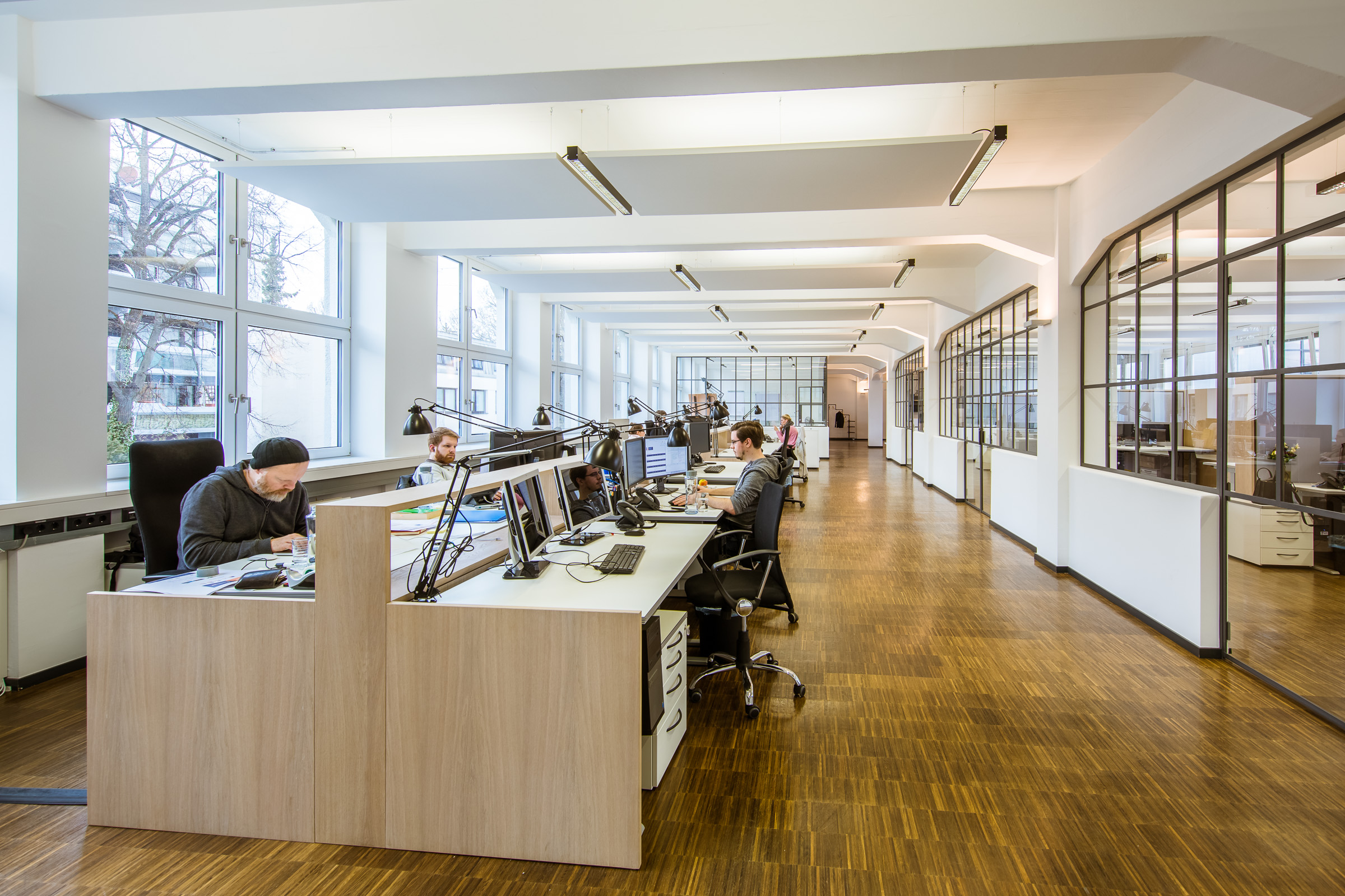 Buro Loft Techpilot Muenchenarchitektur
