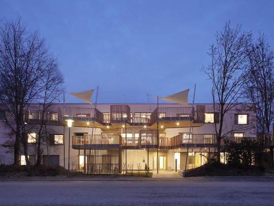 BILD:       Wohnheim mit Betreuung