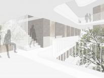 1. Preis: Perspektive. © Dömges Architekten AG