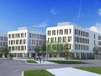 Neues BMW-Zentrum in Freimann. © BMW