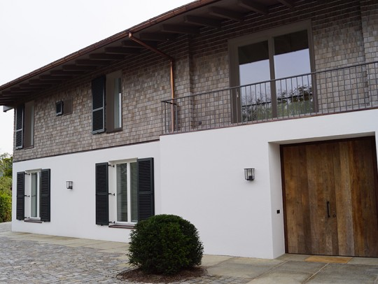 BILD:       Wohnhaus Oberbayern