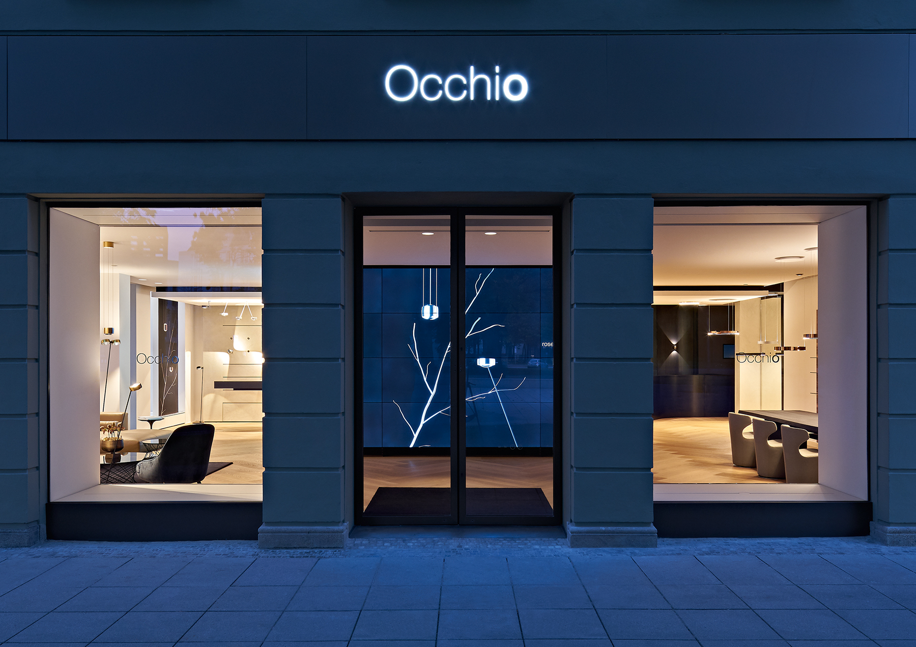 occhio flagshipstore brienner quartier muenchenarchitektur. Black Bedroom Furniture Sets. Home Design Ideas