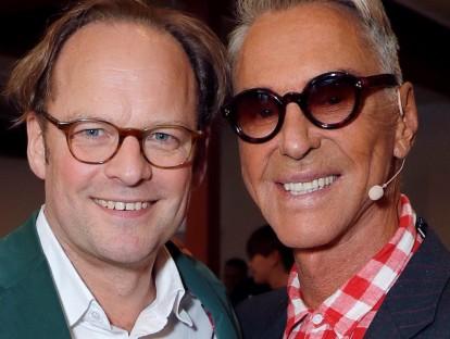 Moritz von Laffert, Herausgeber Condé Nast Deutschland mit Wolfgang Joop
