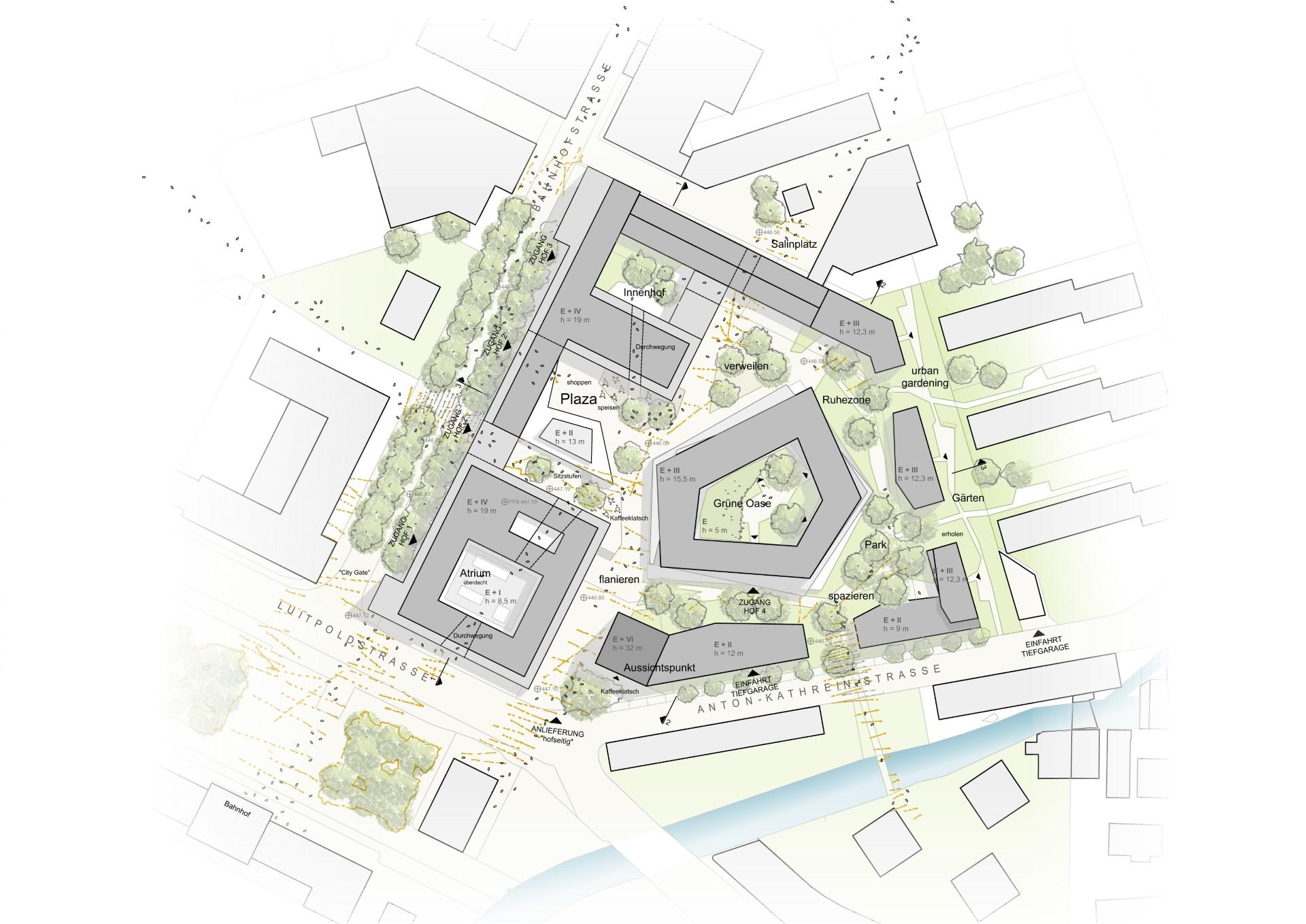 Architekten Rosenheim neues stadtquartier in rosenheim muenchenarchitektur
