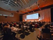 Rund 700 Besucher schätzen jährlich das informative Konzept aus Fachvorträgen zu aktuellen Themen aus dem Mauerwerksbau © Schlagmann Poroton
