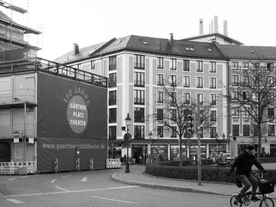 BILD:       Aufstockung und Umbau am Gärtnerplatz