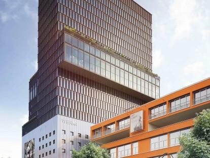 Werk4 von außen. © Steidle Architekten