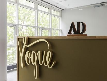 Die Redaktionen unserer Lieblingsmagazine AD, wired, GQ, Vogue und Glamour residieren neuerdings im...