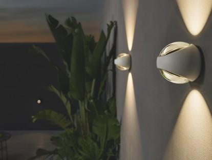 Der Occhio-Kugelkopf - jetzt auch wasserfest. Sito verticale matt white