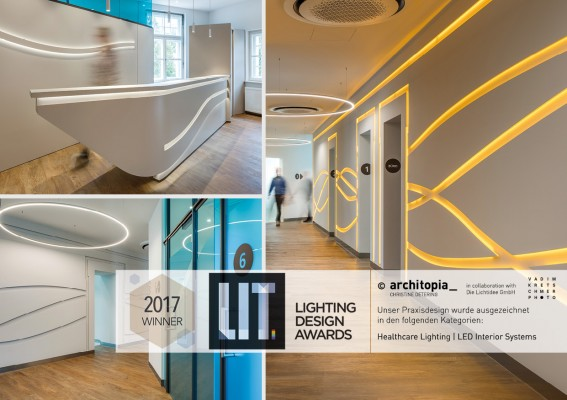 INTERNATIONALER LICHTDESIGNPREIS LIT AWARD WINNER 2017