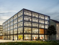 BILD:   Steidle bauen Innovationszentrum MUCL