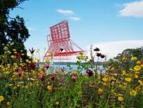 BILD:   Space Ship ankert auf Starnberger See