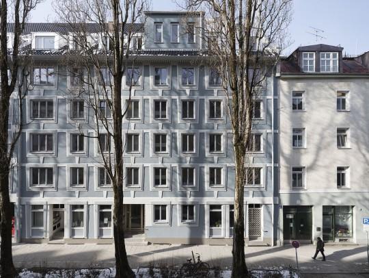 BILD:       Sanierung Bürogebäude Gravelottestraße