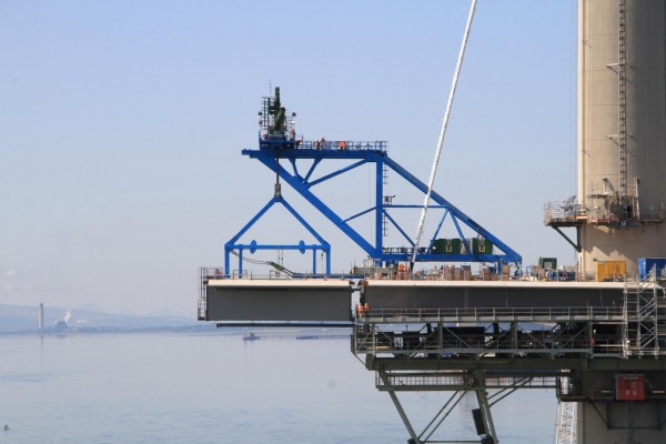 Queensferry Crossing_Deck Erection©Ramboll