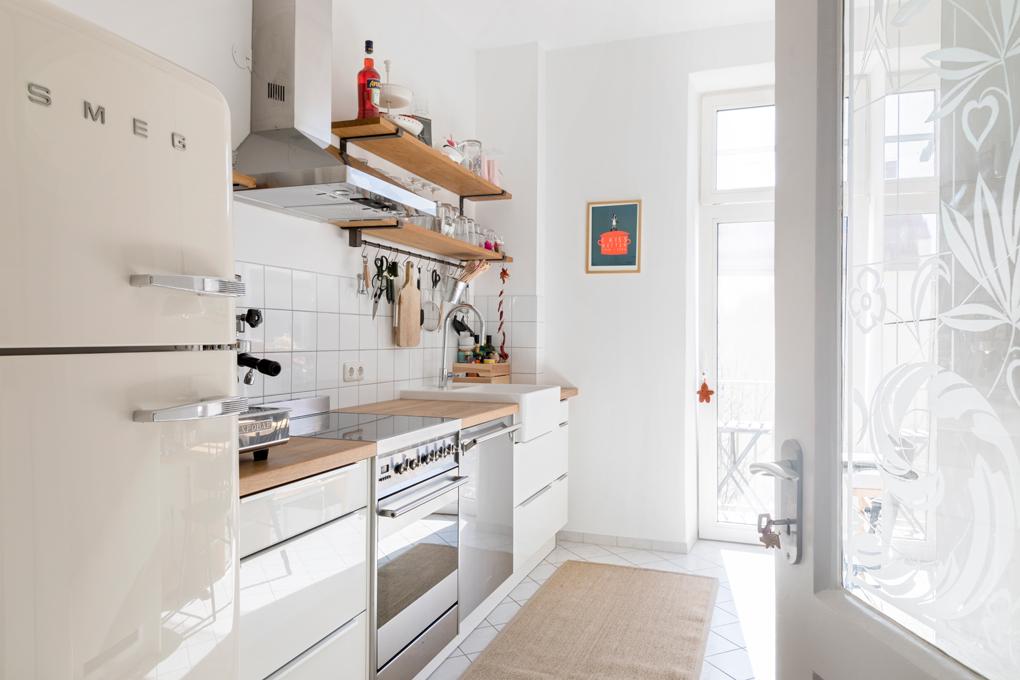Wohnkuche Mit Retro Charme Muenchenarchitektur