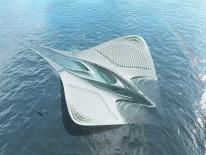 BILD:   Architekturvisionen für Weltall und Meer
