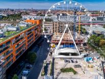 BILD:   Riesenrad Hi-Sky im Werksviertel-Mitte