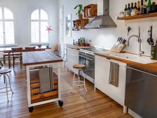 BILD:       Vintage meets Wohnküche