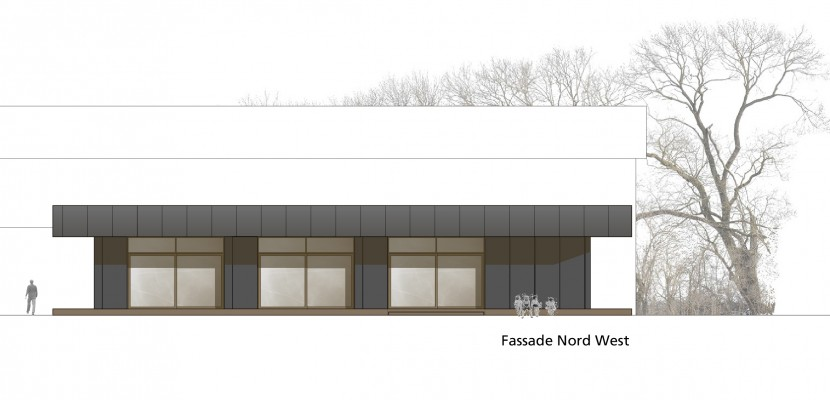 Fassade Nord West