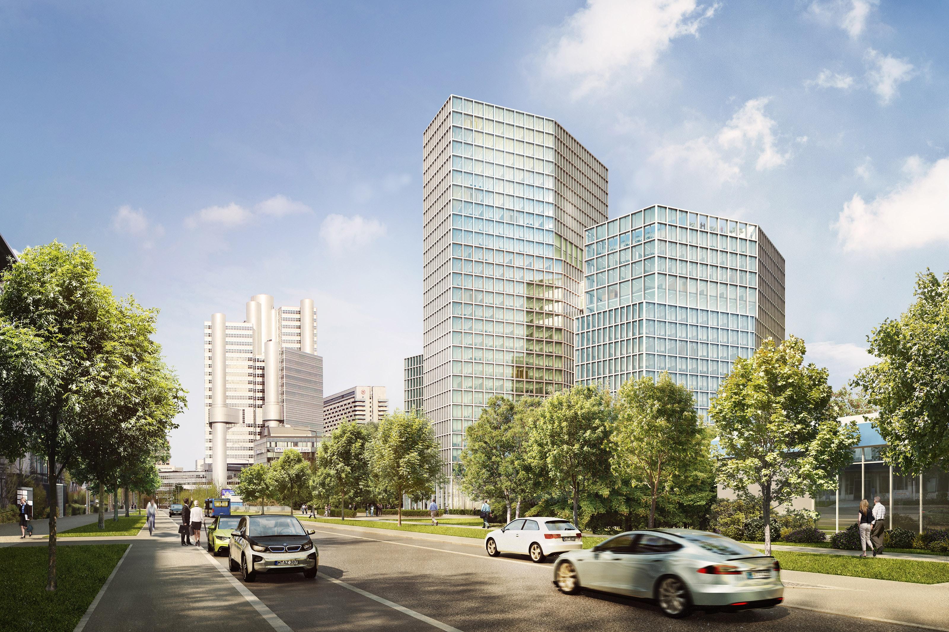 Neue Hochhäuser für München - muenchenarchitektur