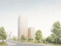BILD:   Neue Hochhäuser für München