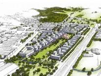 BILD:   Flächensparendes Planen und Bauen