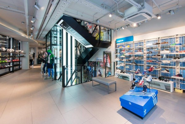 Adidas Flagship-Store in München