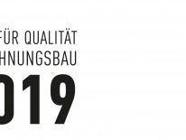 BILD:   Preis für Qualität im Wohnungsbau 2019