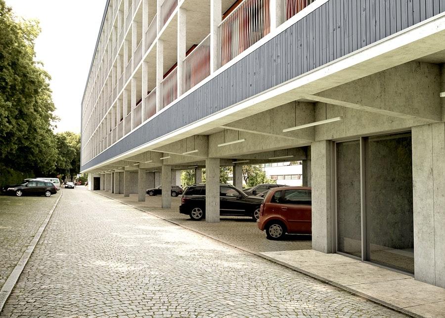 Pilotprojekt am Dantebad. © Florian Nagler Architekten