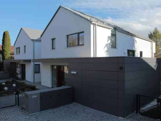 BILD:       Doppelhaus mit Split-Level
