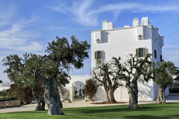 Masseria Torre Maizza in Apulien.