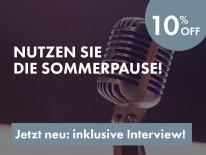 BILD:   Summer Special - 10% Rabatt inkl. Interview