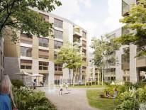 BILD:   Daumen hoch für Münchner Wohnquartier Z