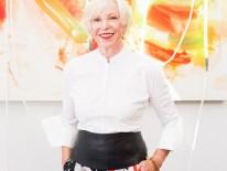 BILD:   Die grande Dame der Münchner Kunstszene