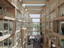 BILD:   Holz-Hybrid im Münchner Osten