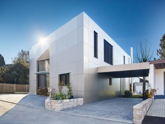 BILD:       Neubau eines Einfamilienhauses