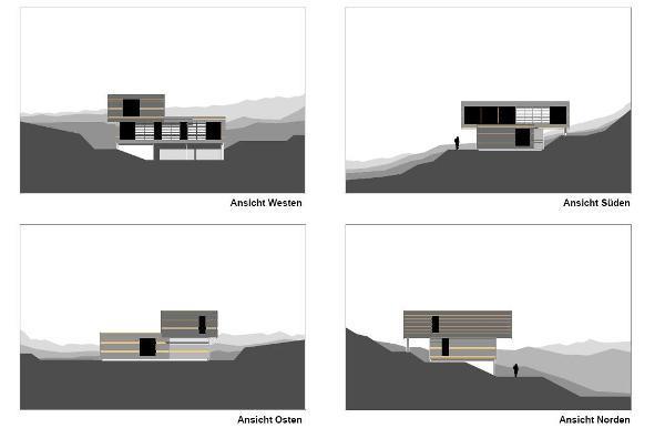 Ansicht Architektur wohnhaus pirner pegnitz muenchenarchitektur