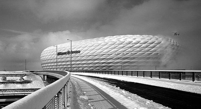 Allianz Arena Muenchenarchitektur