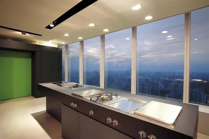 Gaggenau showroom shanghai muenchenarchitektur for Gaggenau ger te
