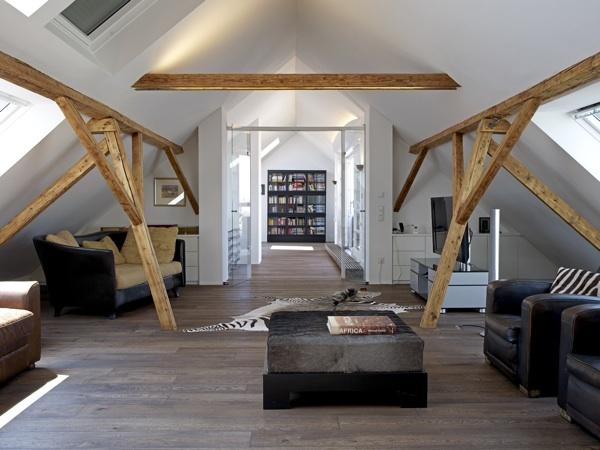 Dachgeschosswohnung Gestalten