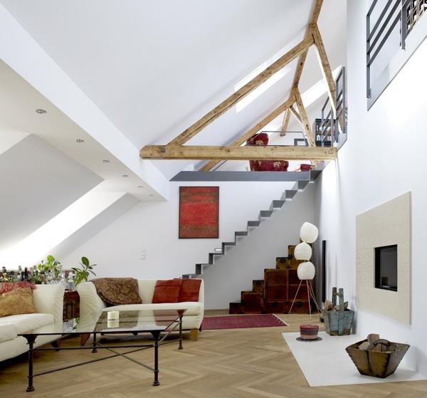 dachgeschosswohnung reichenbachstra ee muenchenarchitektur. Black Bedroom Furniture Sets. Home Design Ideas