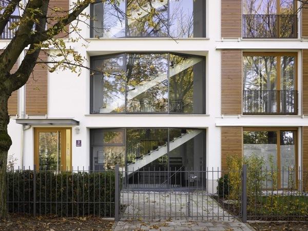 Treppenhaus mehrfamilienhaus modern  Mehrfamilienhaus in München Schwabing - muenchenarchitektur