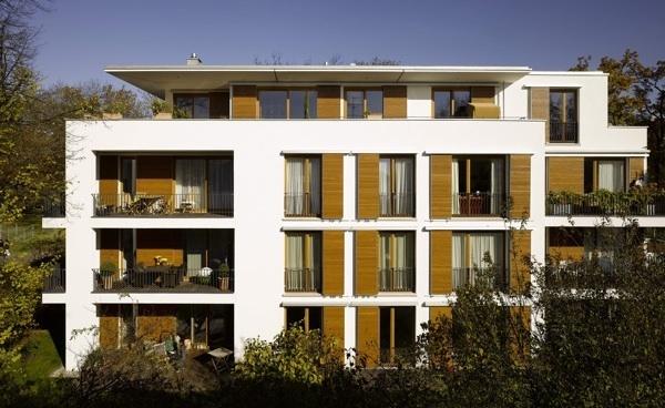 Mehrfamilienhaus in m nchen schwabing muenchenarchitektur for Mehrfamilienhaus modern
