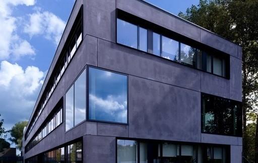 verwaltungsgeb ude bayernoil muenchenarchitektur. Black Bedroom Furniture Sets. Home Design Ideas