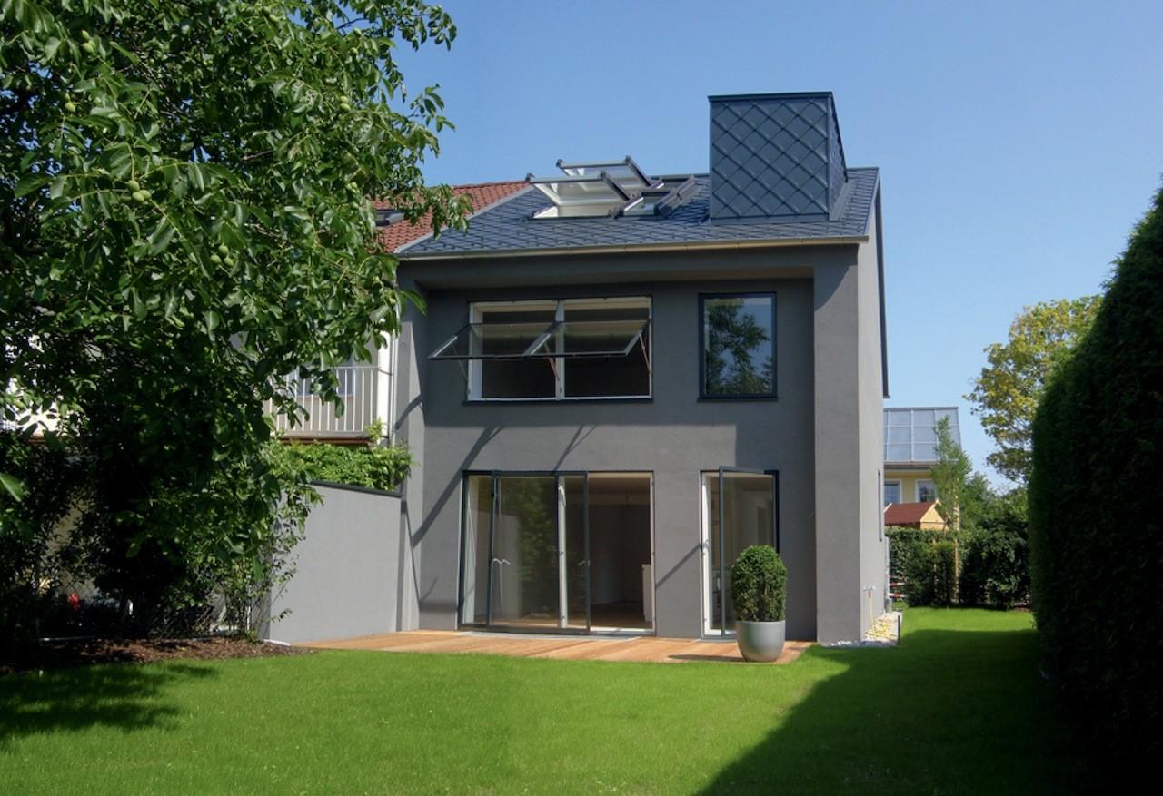 r28 sanierung eines reiheneckhauses muenchenarchitektur. Black Bedroom Furniture Sets. Home Design Ideas