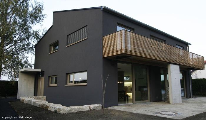 Haus h hechendorf am pilsensee muenchenarchitektur - Ansicht architektur ...