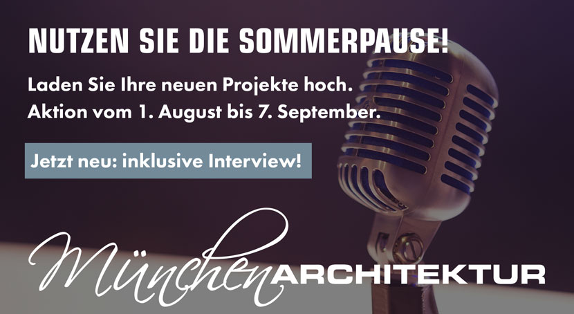 Architekturhighlights Sommerspecial