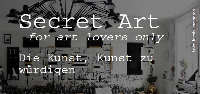 Secret Art [for art lovers only] - Die Kunst, Kunst zu würdigen
