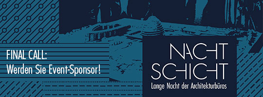 NACHTSCHICHT - Letzte Chance Event-Sponsor zu werden!